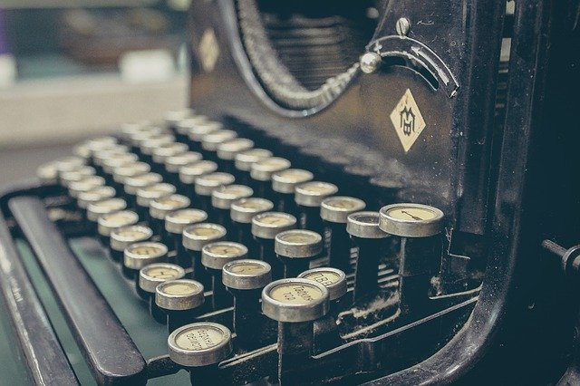 Schreibmaschine Pixabay