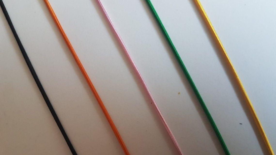Farbige Gummibänder für den Miki
