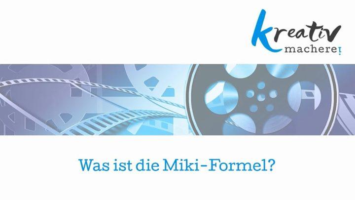 Titelbild Was ist die Miki-Formel?