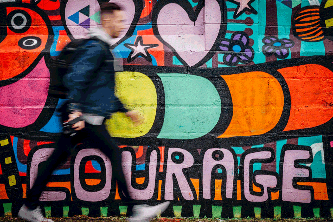 Graffiti Courage